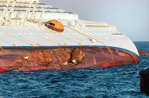 Costa Concordia Hull Damage