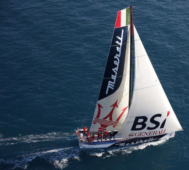 maserati sailboat racing