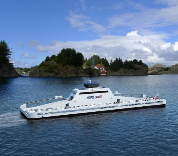 zerocat siemens fjellstrand ferry electric