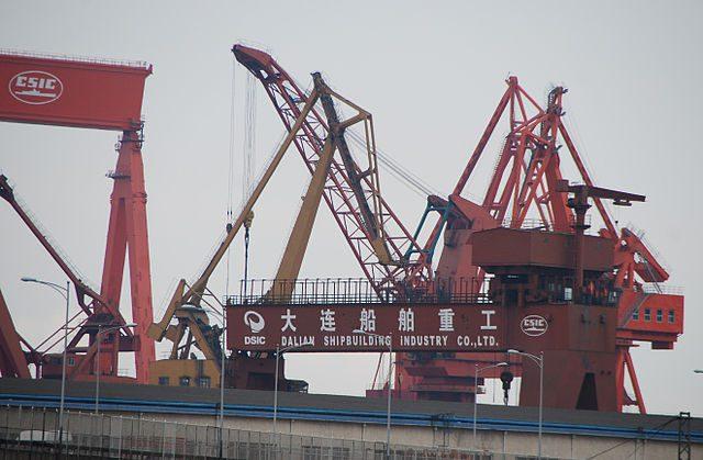 Dalian shipbuilding