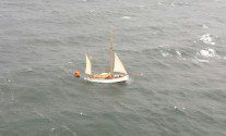 One Killed as Historic Norwegian Yacht Sinks During Race