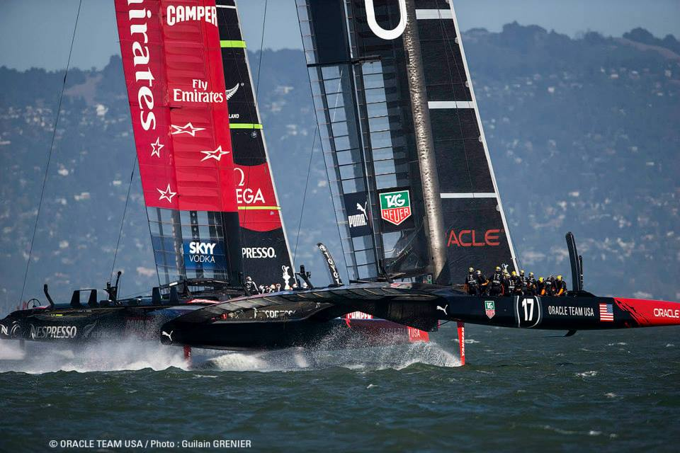 americas cup oracle team usa emirates team new zealand