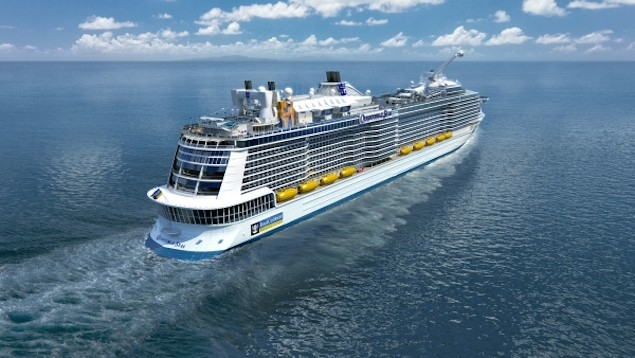 Illustration of the new Quantum-class. Image courtesy Royal Caribbean