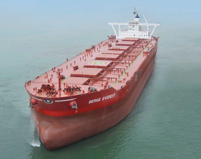 berge everest vloc ore carrier ship