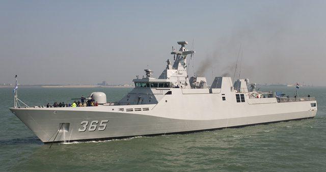 indonesia navy sigma class corvette