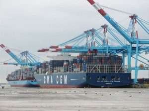 port zeebrugge container ship shipping apm terminals