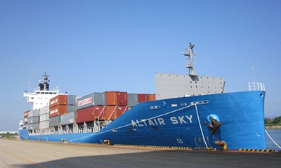 altair sky containership