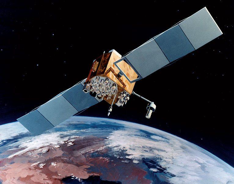 navstar 2f gps satellite