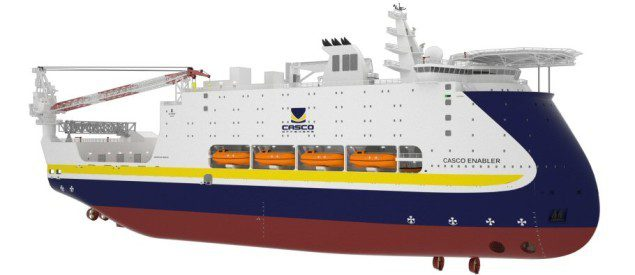 casco offshore accommodation vessel ulstein