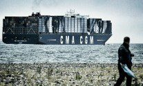 CMA CGM Containership Transformed Into Giant Work of Art – VIDEO