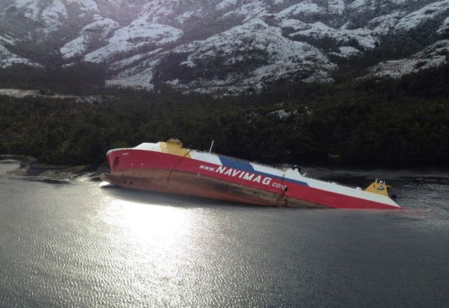 Chilean ferry Amadeo
