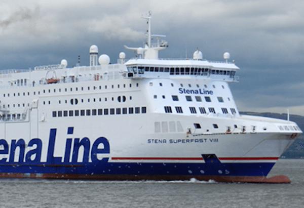 Ferry To Ireland From Holyhead >> Stena Line Ferry Breaks Moorings in Belfast With ...