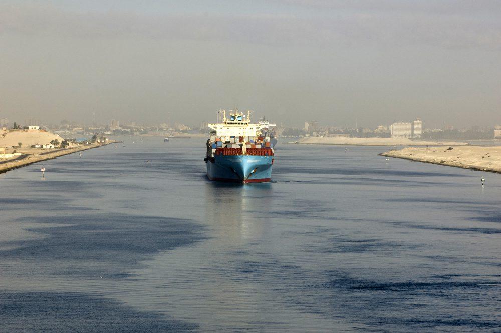 Suez Canal file photo (c) Shutterstock/Oleksandr Kalinichenko