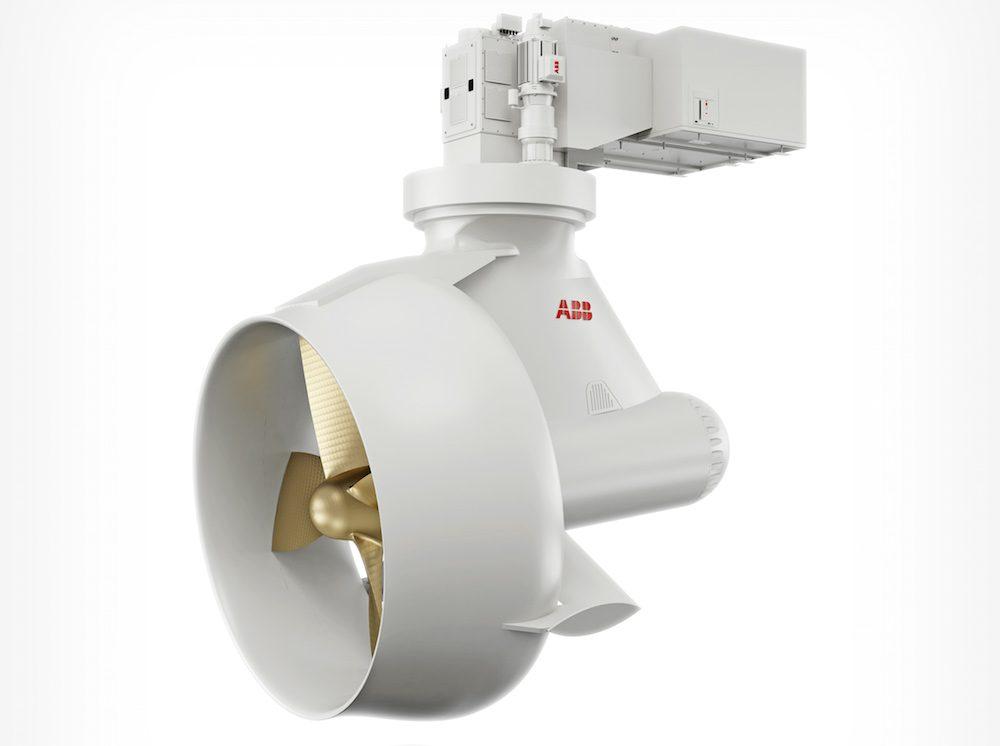Abb Introduces New Azipod D Electric Thruster Gcaptain
