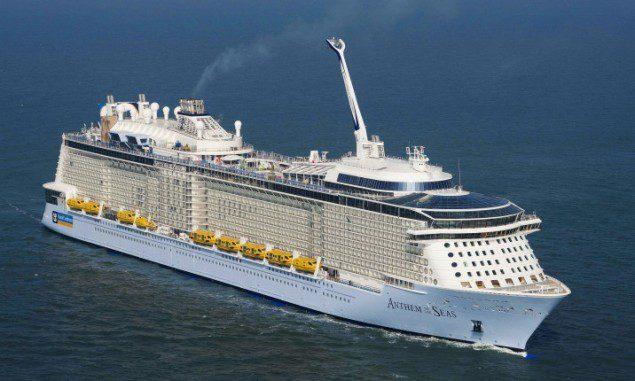 Anthem of the Seas. Photo: Meyer Werft