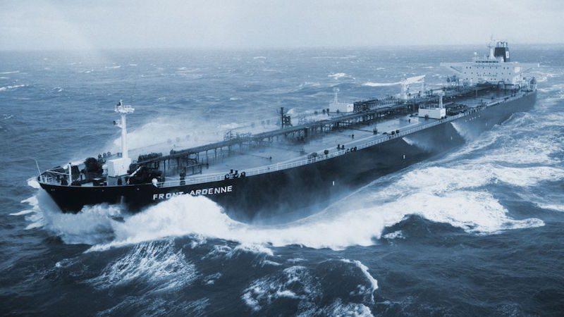 frontline vlcc tanker