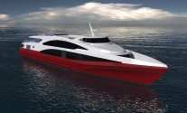Incat Crowther to Design New Monohull Fast Ferry