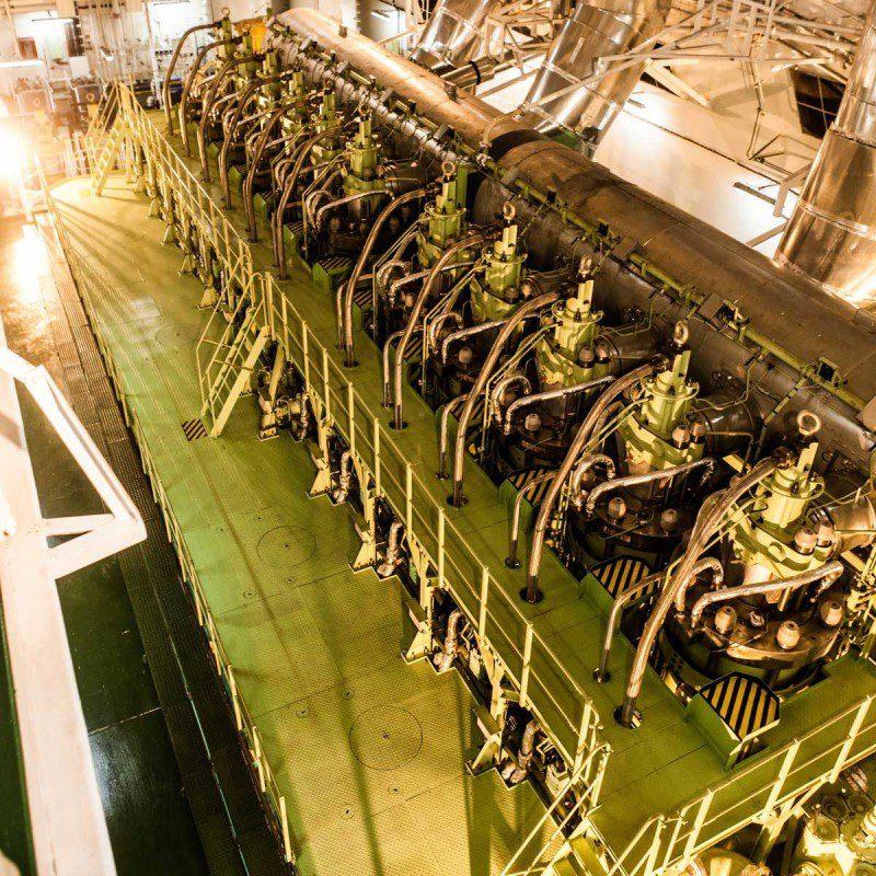 Slow Speed Marine Diesel Engine