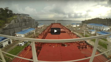 Time-Lapse Video: Take a Trip Through the Expanded Panama Canal Locks