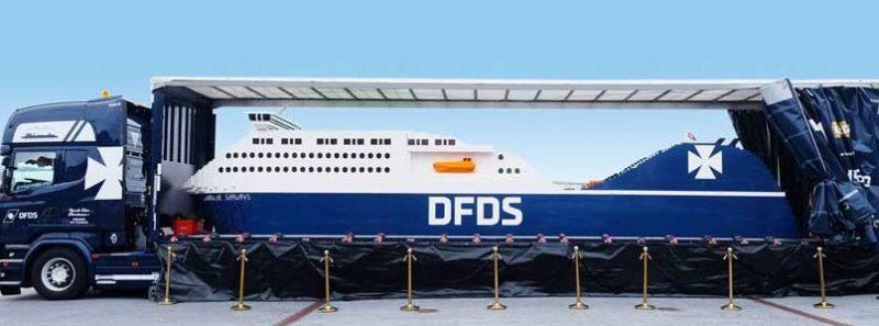 Lego ferry coopenhagen