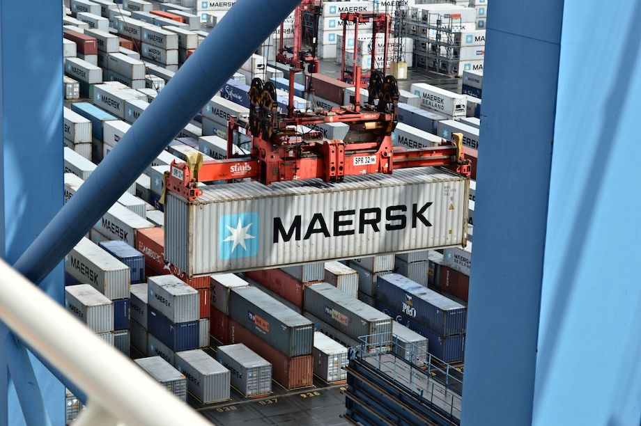 maersk freight cargo