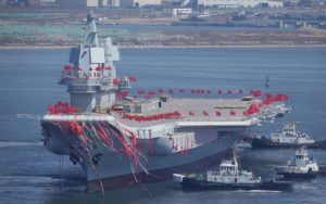 china home-built aircraft carrier