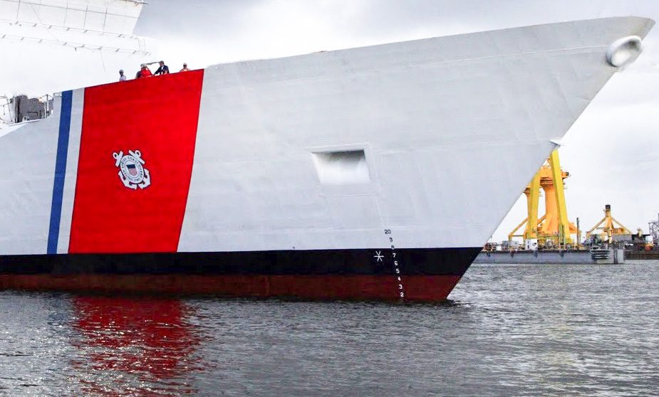 USCGC STRATTON Racing Stripe