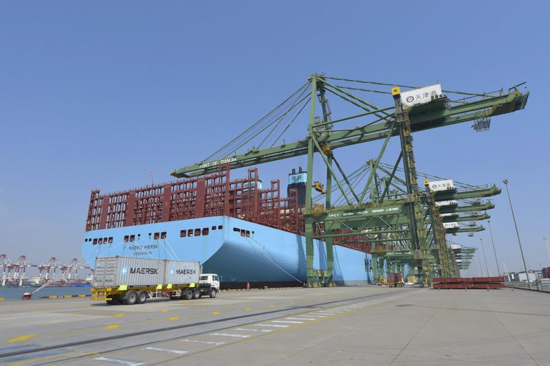 madrid maersk maiden call