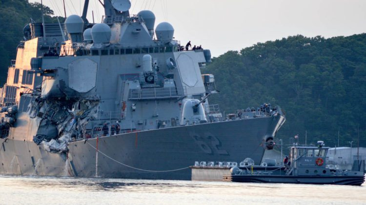 USS Fitzgerald – Stop, Analyze, Dissect And Let's Figure Out What Went Wrong