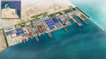 Construction Begins on Saudi Arabia's Massive Persian Gulf Maritime Yard