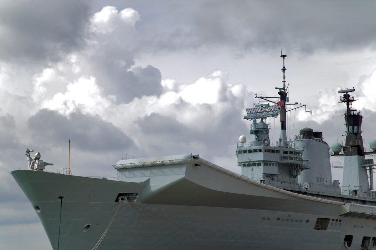 Royal Navy HMS Queen Elizabeth Carrier