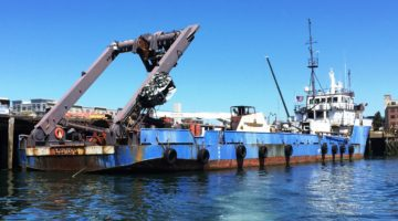 """Sea Hunter"" 240 ft Salvage Ship For Sale by Marshall's Auction [Sponsored]"