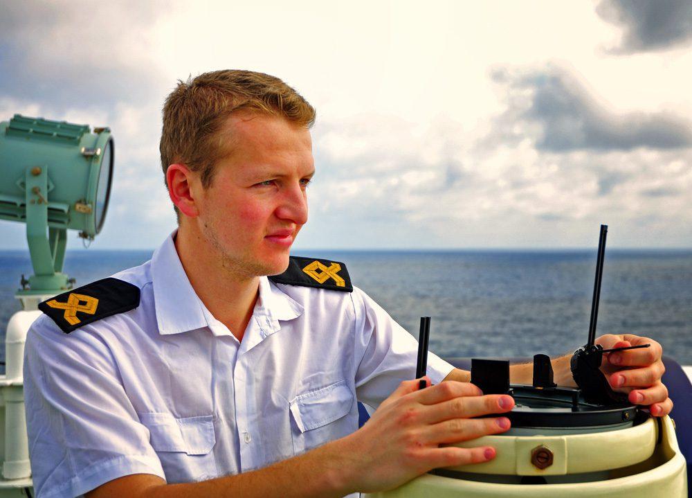 ship watch-officer-bridge-wing