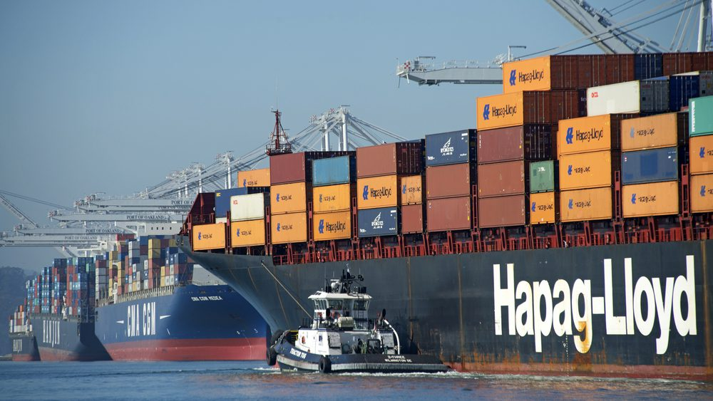 Hapag-Lloyd Container-ship BOSTON EXPRESS
