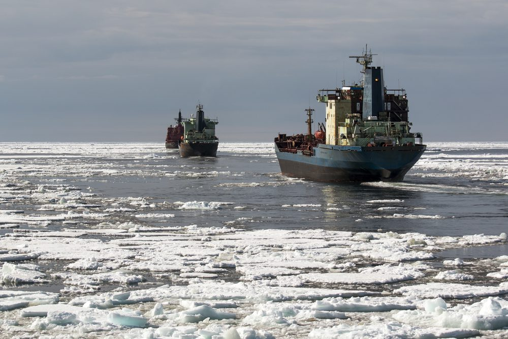 nuclear icebreaker convoy