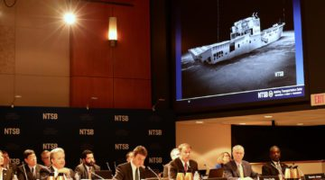 Overconfident Captain Ignored Storm Reports Before EL FARO Sinking -NTSB