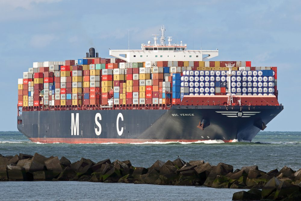 msc containership