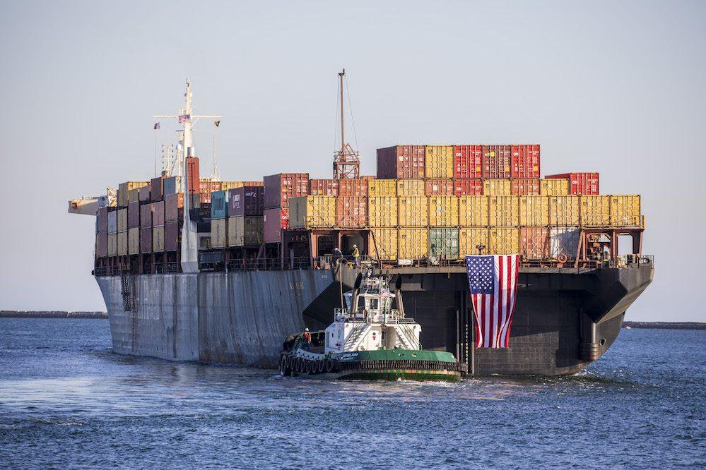 jones act container ship