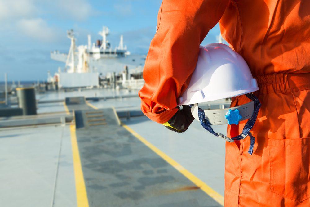 oil tanker crew member