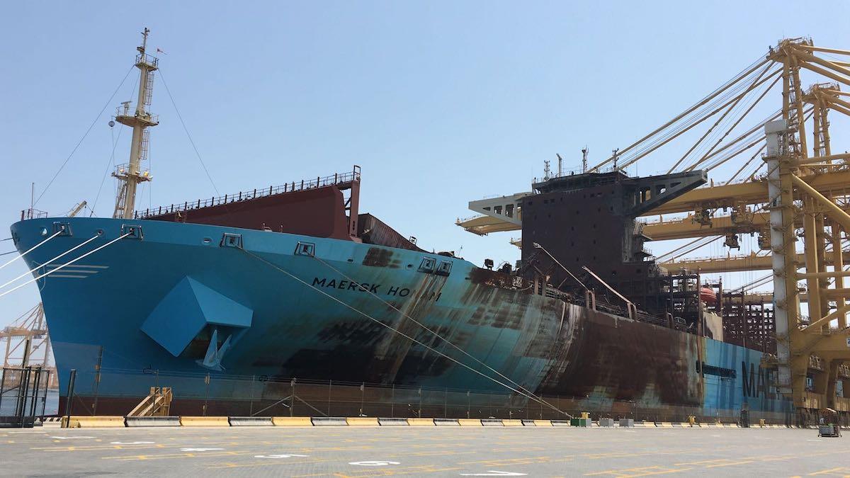 Maersk honam jebel ali