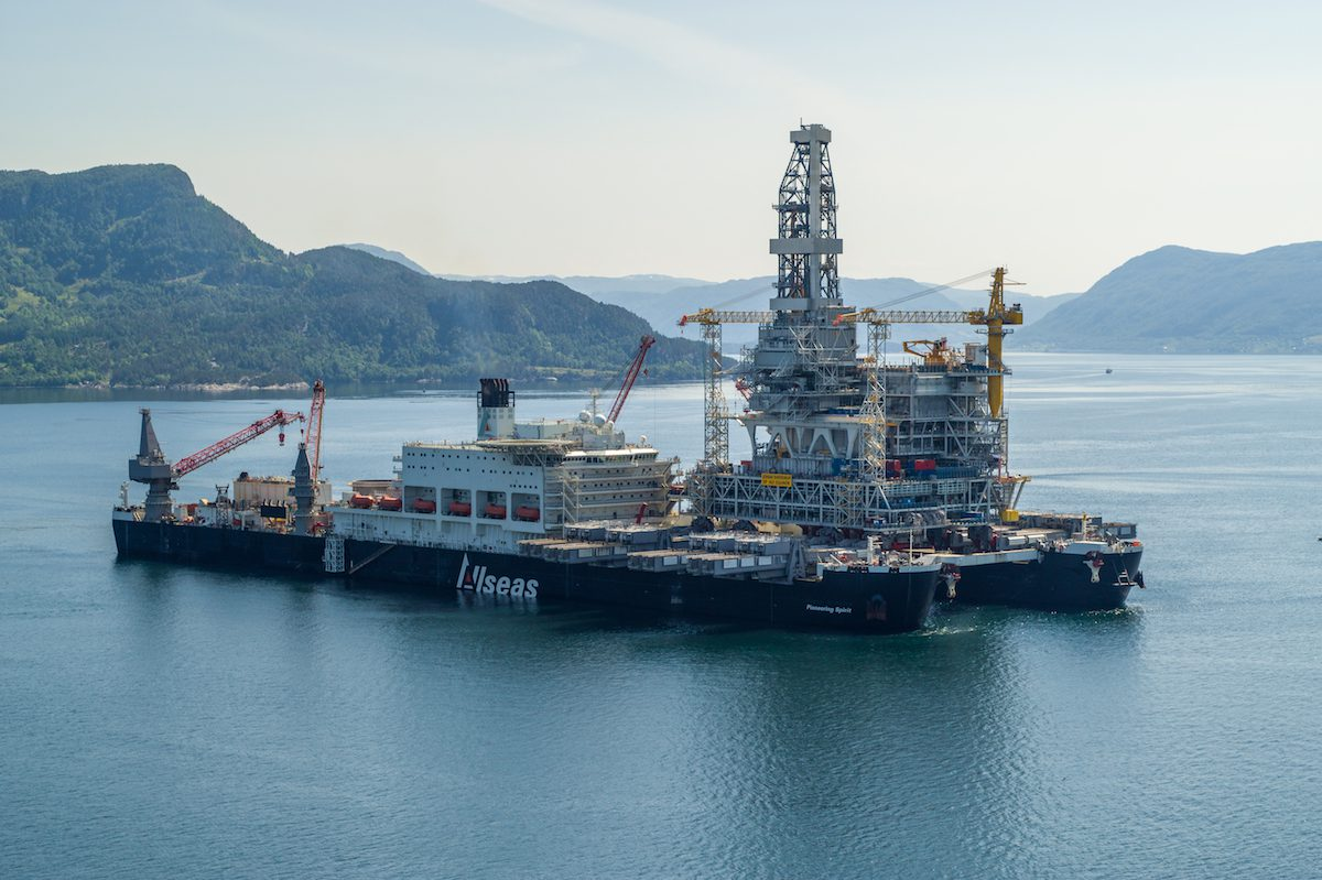 pioneering spirit johan sverdrup