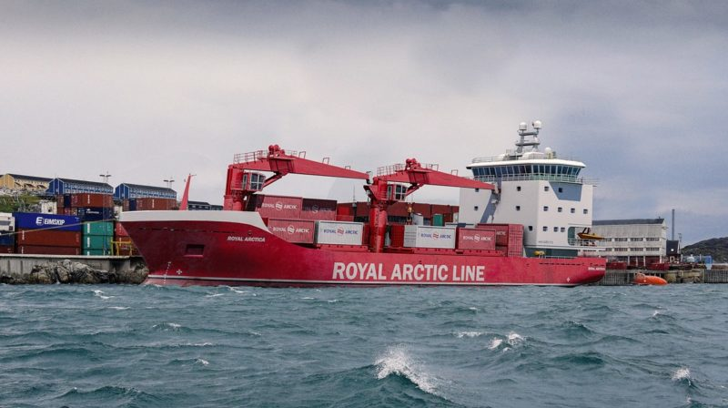 Royal Arctic Line new cargo ships