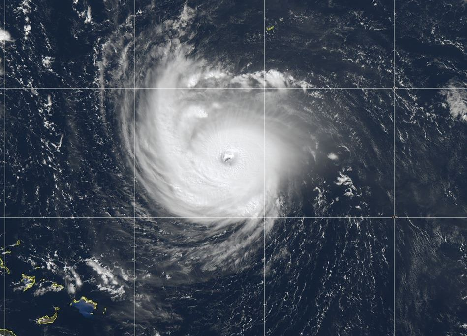 Hurricane Florence pictured September 11, 2018