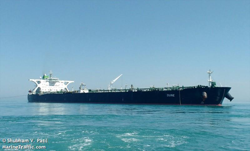 iranian supertanker dune