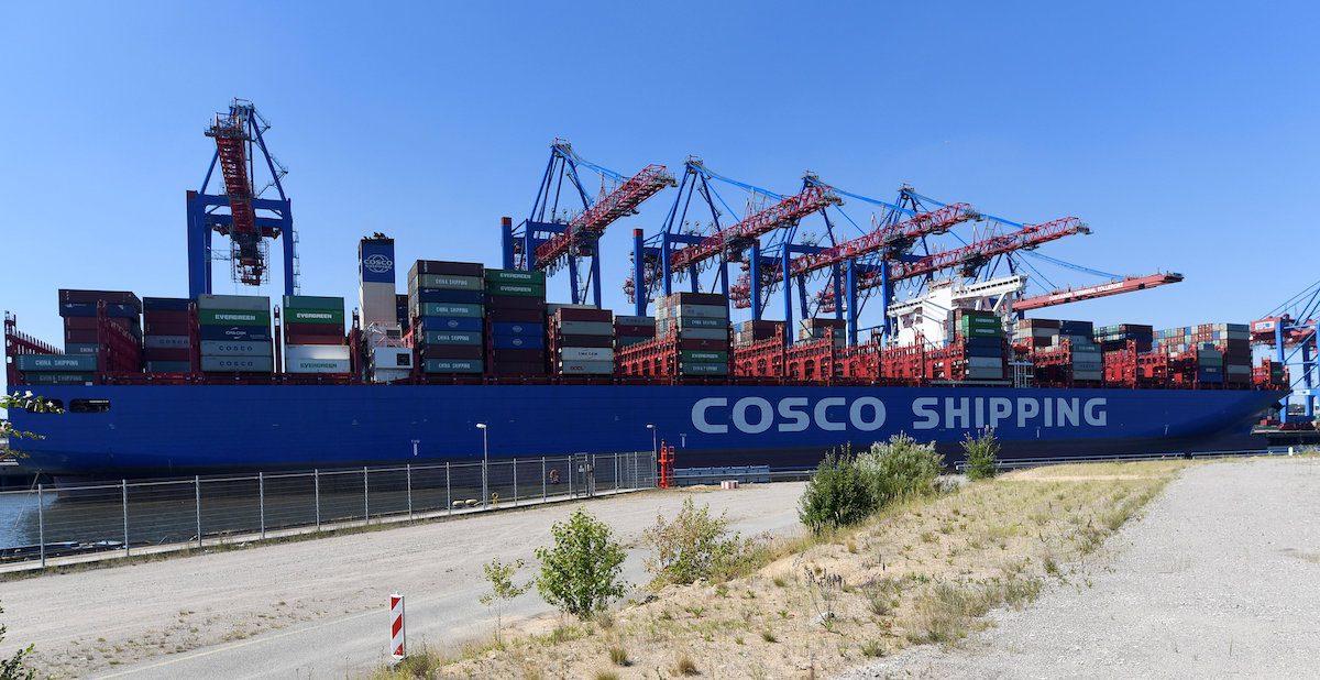 china cosco ship