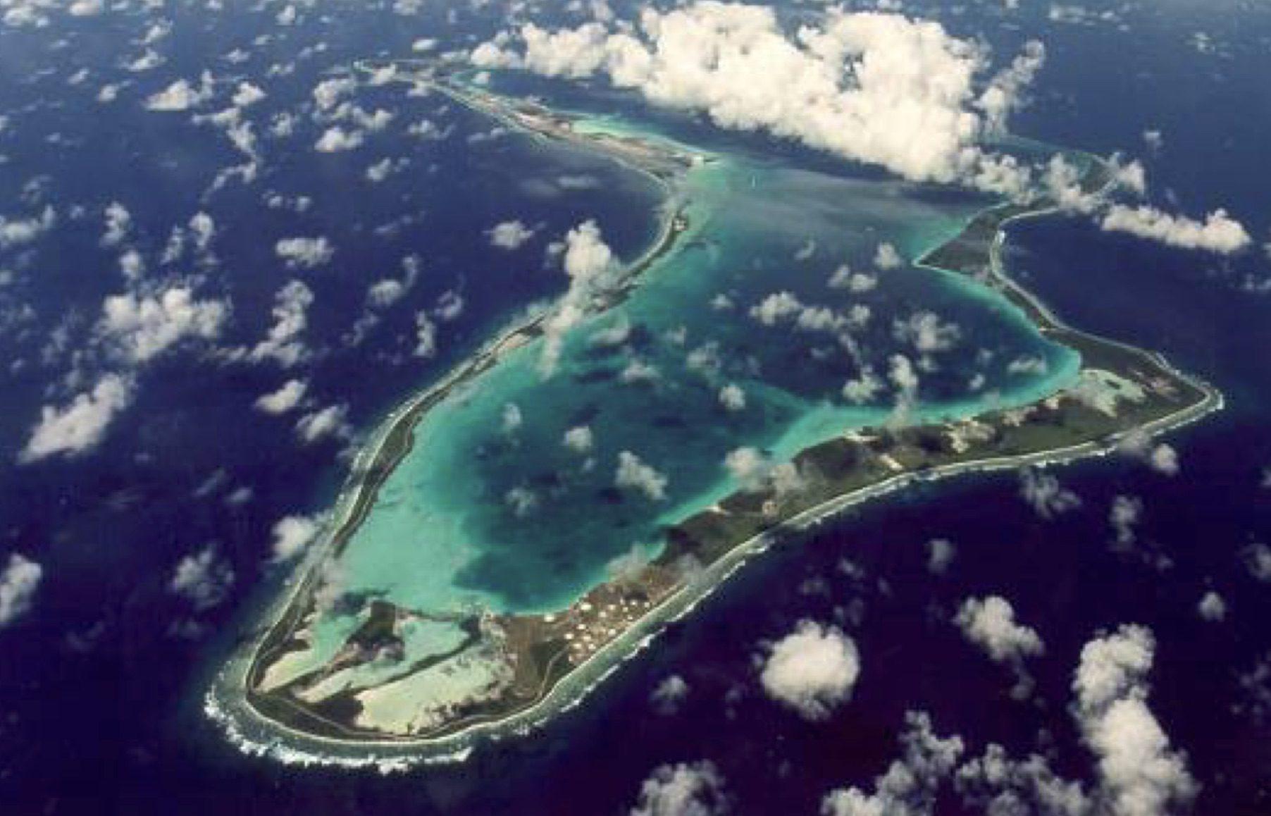 Port Of Diego Garcia Aerial
