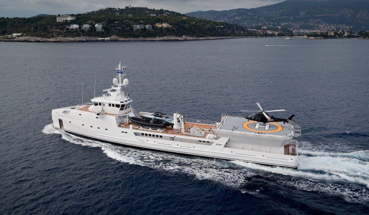 damen yacht support vessel