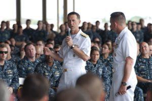 U.S. Chief of Naval Operations Admiral John Richardson