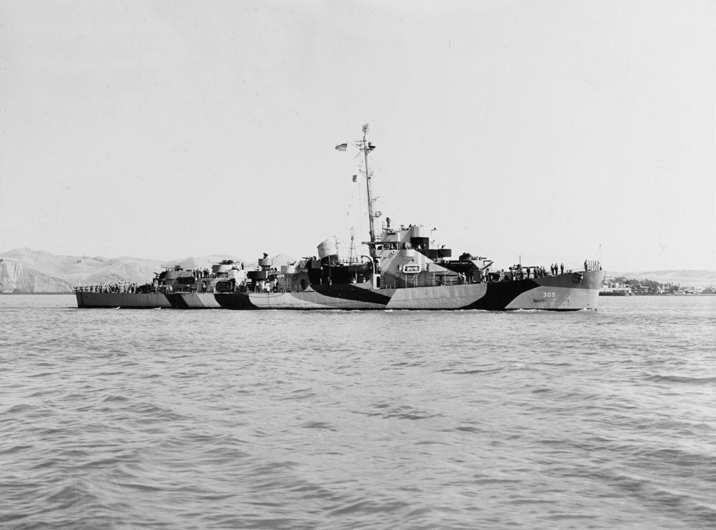 U.S. Navy destroyer escort USS Halloran