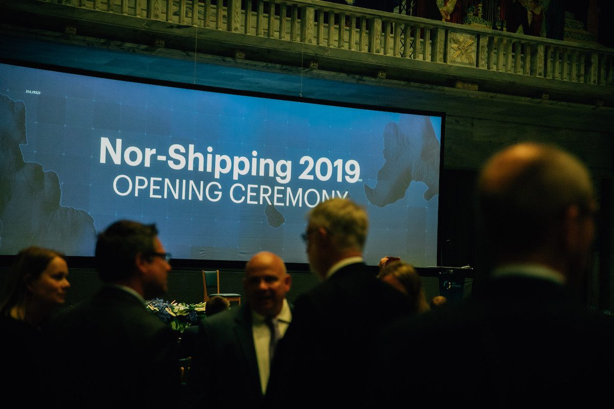 Nor-Shipping 2019 Opening Ceremony at the Oslo City Hall